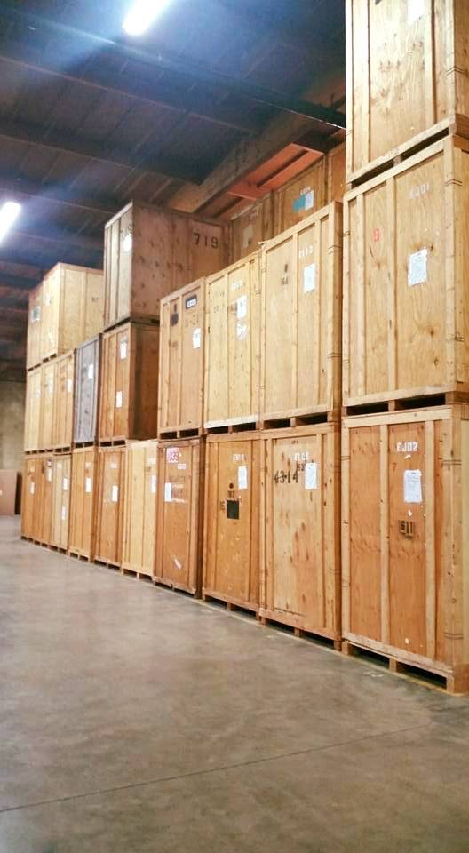 Warehouse Storage Vaults