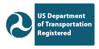 US Department of Transportation Registered badge